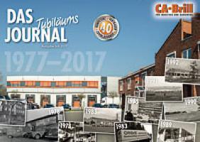 40 Jahre CA Brill GmbH - das aktuelle Jubiläumsjournal