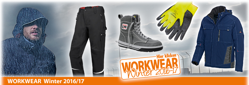 Workwear Winter 2016